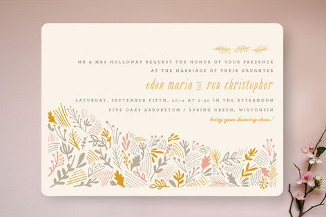The Grainfield Wedding Invitations