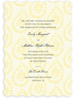 Print Block Wedding Invitations