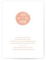 Sweet Stamp Wedding Invitations