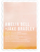 Ombre Wedding Invitations