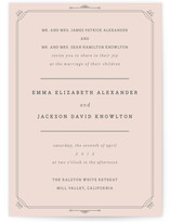 All About Archer Wedding Invitations