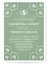 Clam Wedding Invitations