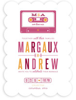 Our Love Mix Wedding Invitations