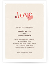 Cozy Wedding Invitations