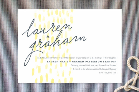 Color Us Happy Wedding Invitations