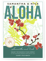 Aloha Nui Loa Wedding Invitations
