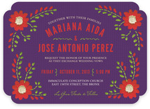 Mexican Ties Wedding Invitations