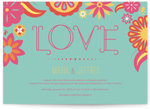 Dia de Amor Wedding Invitations