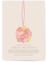 Kissing Ball Wedding Invitations