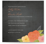 A Punch of Poppies Wedding Invitations