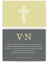 Two Become One Wedding Invitations