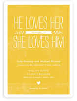 Quite Simply Wedding Invitations