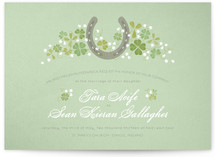 Lucky Horseshoe Wedding Invitations