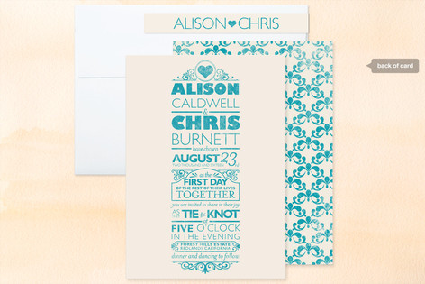 wedding invitations, creative wedding invitations, minted, minted.com