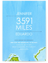 Miles of Love Wedding Invitations
