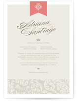 Latin Celebration Wedding Invitations