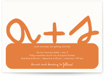 Initials Wedding Invitations