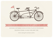 Tandem Wedding Invitations By Snow and Ivy
