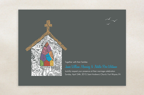 Quiet Chapel Wedding Invitations
