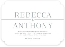 Broome Street Wedding Invitations