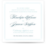 Greek Key to Happiness Wedding Invitations