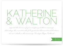 Simply Couture Wedding Invitations