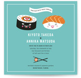 Sushi Love Wedding Invitations