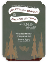 In the Woods Wedding Invitations