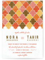 A Wedding in Marrakesh Wedding Invitations