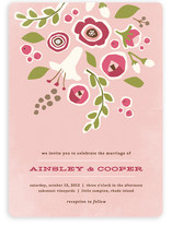 Summer's End Wedding Invitations
