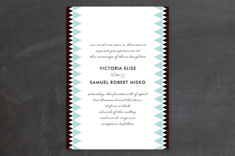 Trinity Wedding Invitations
