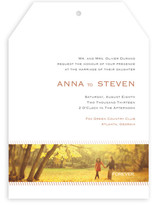 Forever Panoramic Wedding Invitations