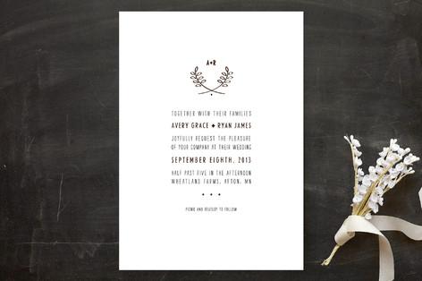 Picnic Basket Wedding Invitations