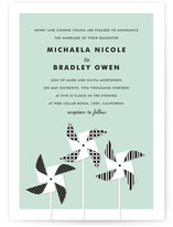 Pinwheels Wedding Invitations