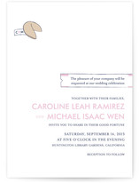 Read This Fortune, Cookie Wedding Invitations