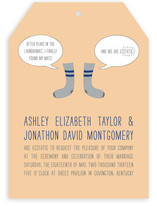 Sole Mates Wedding Invitations