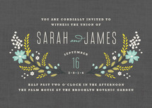 Botanical Blooms Wedding Invitations By Kristie Kern