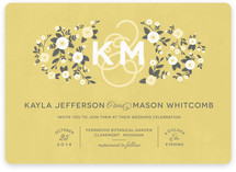 Cheerful Bloom Wedding Invitations