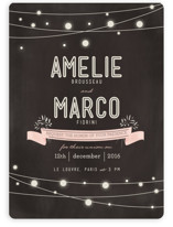 Paris Lights Wedding Invitations