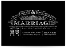 Eloquent Wedding Invitations