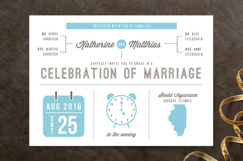 Love Graphics Wedding Invitations