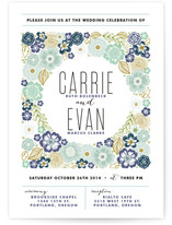 Flower Box Wedding Invitations