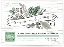 Birch Bark Woods Wedding Invitations