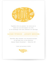 Sweet Love Wedding Invitations
