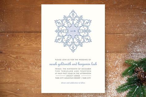 Winter Wedding Wedding Invitations