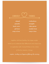 Celebrate Your Differences Wedding Invitations