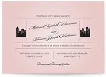 Skyscaper Wedding Invitations
