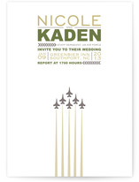 Air Force Salute Wedding Invitations