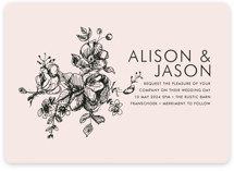 Elegance Illustrated Wedding Invitations