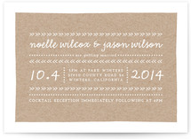 This Way Wedding Invitations